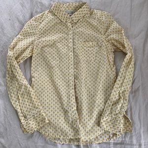 Halogen apple button up collared shirt
